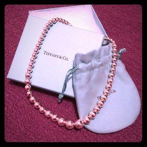 Tiffany Graduated Bead Necklace
